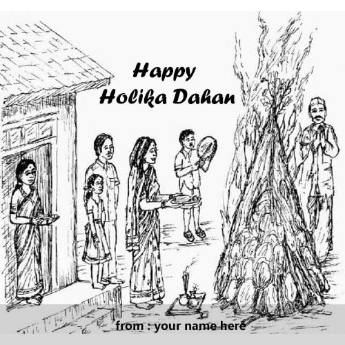 happy holika dahan images name editor