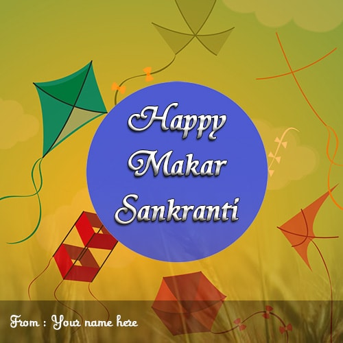 happy makar sankranti name images