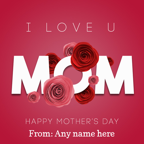happy mothers day images with name
