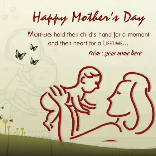 happy mothers day wishes quotes picture with name