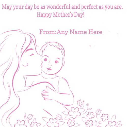 happy mothers day wishes quotes with name pic for free