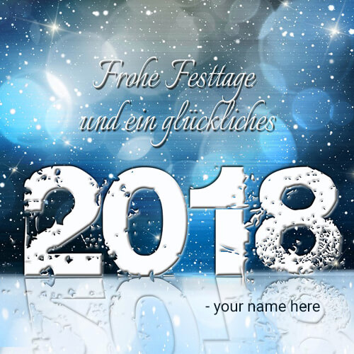 happy new year 2018 latest pictures with name editing