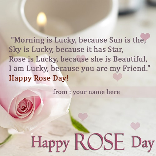 happy rose day quotes for friends