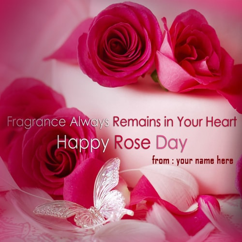 happy rose day red rose name images