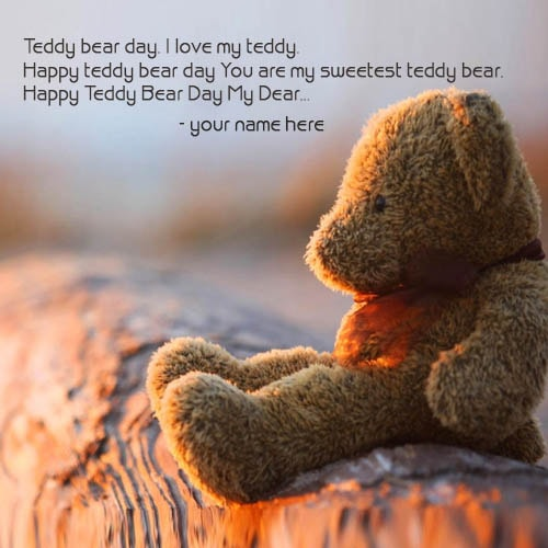 happy teddy day wishe quotes with name pix