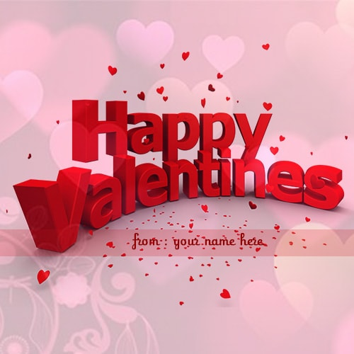happy valentine day wishes name pictures