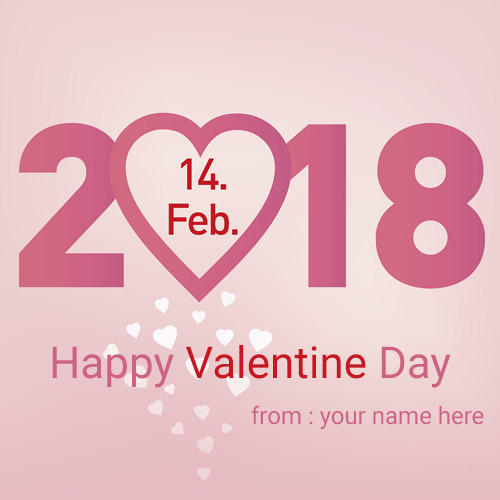happy valentine special greeting cards with name pic free