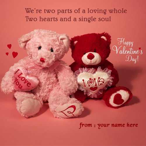 happy valentines day teddy bear hug pics