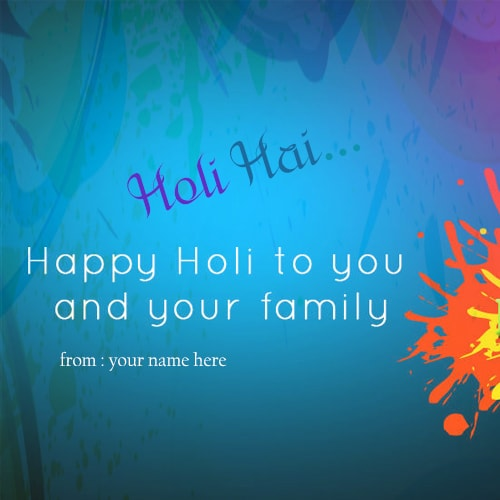 Holi wishes to friends and family greeting cards m4hsunfo