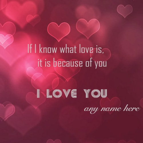 how to write i love you