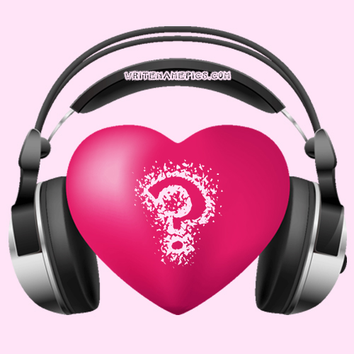 love music heart images with name alphabet editor