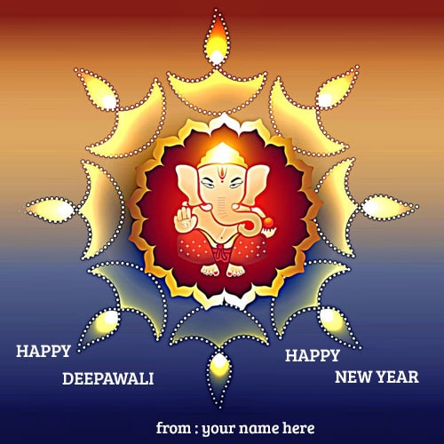 Happy New Year Diwali 24