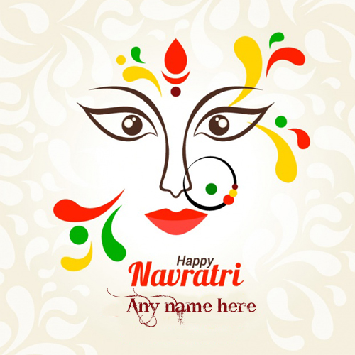 navratri special greeting card wishes pics download