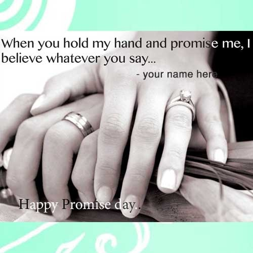 promise day quotes name pics