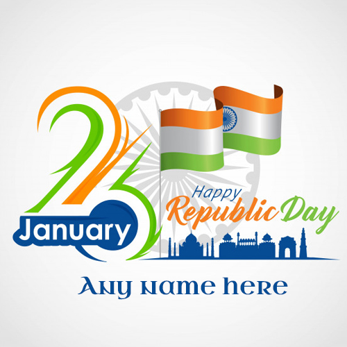 republic day images with name