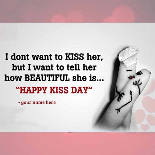 two fingers kissing kiss day wishes quotes pics