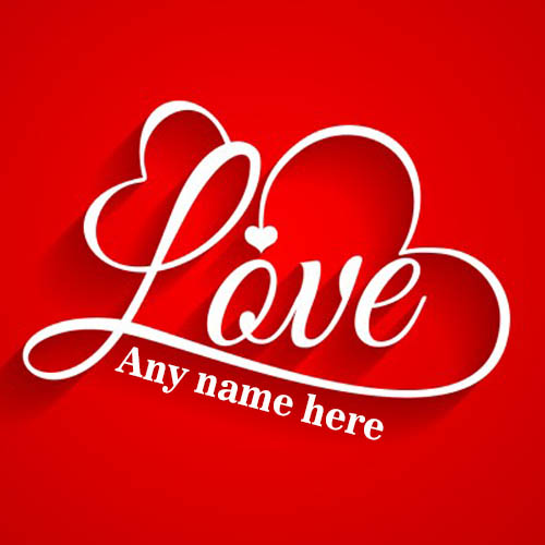 write name on best love whatsapp status and profile pic