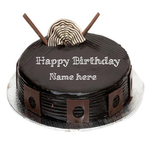 write name on dark royal birthday wishes cake images free edit
